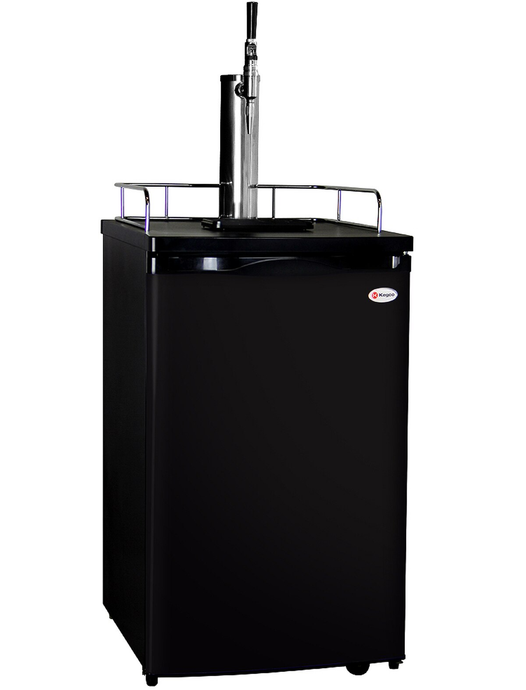 GUINNESS™ DISPENSING KEGERATOR WITH BLACK CABINET AND DOOR