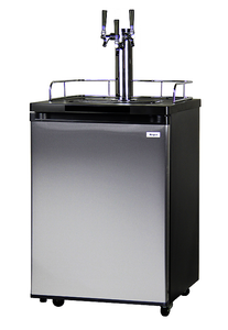 K209SS-3 Triple-Faucet Draft Beer Dispenser