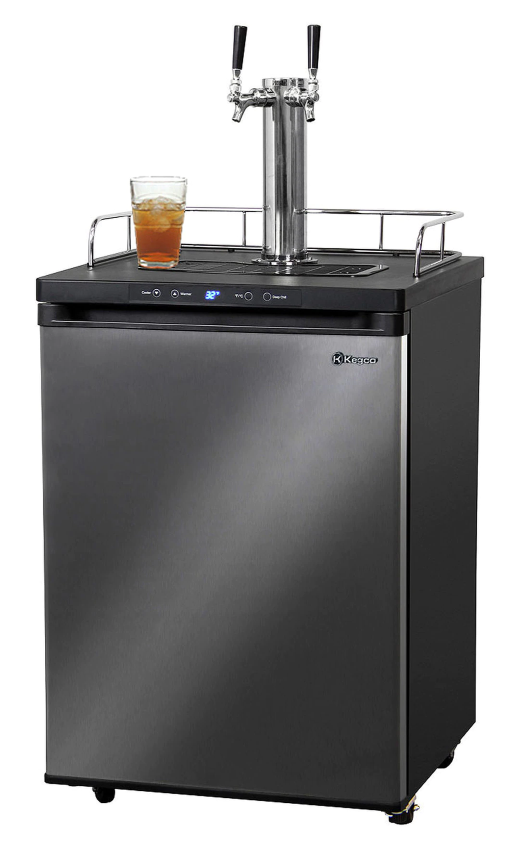 DUAL FAUCET DIGITAL KOMBUCHARATOR KOMBUCHA KEG DISPENSER