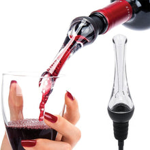 Load image into Gallery viewer, VOGVIGO Red Wine Aerating Pourer Spout Decanter Wine Aerator Quick Aerating Pouring Tool Pump Portable Filter