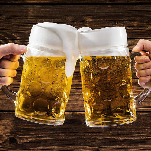 Oktoberfest Glass Beer Mug (33.75 oz)