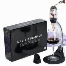 Load image into Gallery viewer, Wine Aerator Decanter Filter + Red White Wine Flavour Enhancer and Stand UK FAST