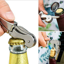 Load image into Gallery viewer, GVCD Wine Stoppers Set, Wine Saver Vacuum Pump Preserver - With 4 Bottle Stoppers, 1 Wine Aerator & 1 Bottle Opener