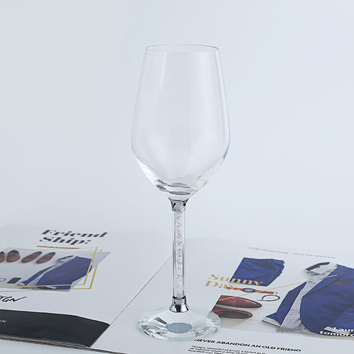 Sculptured Contemporary Wine Glasses