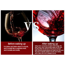 Load image into Gallery viewer, Smart Oxygen Wine Decanter Pump Aerator Barrel Shaped Electric Wine Decanter with LCD Display Wine Pourer Kitchen Bar Tools
