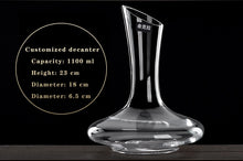 Load image into Gallery viewer, Le Chateau Wine Decanter