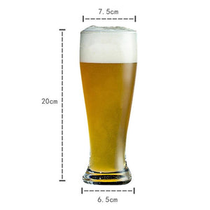 21 ounce Pilsner Beer Glass (set of 4)