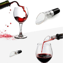 Load image into Gallery viewer, Wine Aerator Superior Quality Decanter Red Wine Pourer Pour Bottle Cork Decanter Pourer Portable Bar Tool Kitchen Accessories