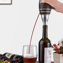 Load image into Gallery viewer, Barrel Shaped Electric Wine Aerator