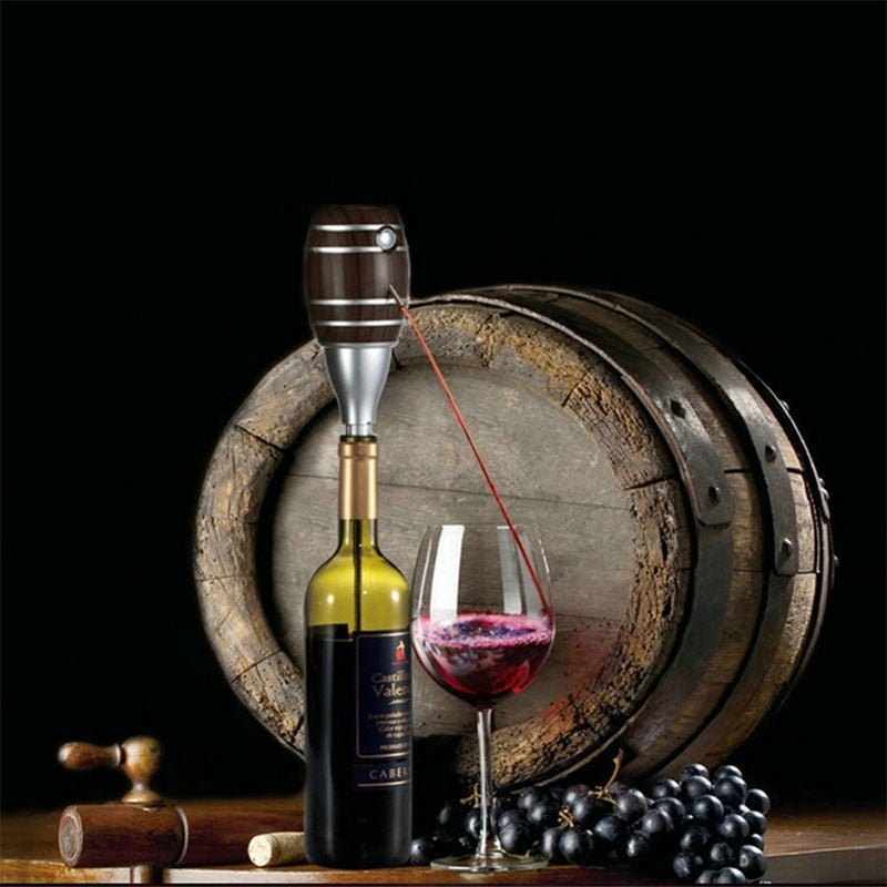 Barrel Shaped Electric Wine Aerator