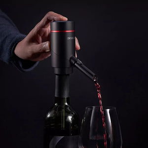 Xiaomi Mijia Circle Joy Electric Wine Sobering 2 in 1 Wine Dispenser Set Easy and Efficient Fast Dispensing Wine USB Charging
