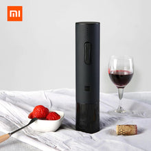 Load image into Gallery viewer, Xiaomi Huohou Automatic Bottle Opener red Wine Stopper Kit decanter stopper Electric Corkscrew Foil Cutter Cork Out Tool