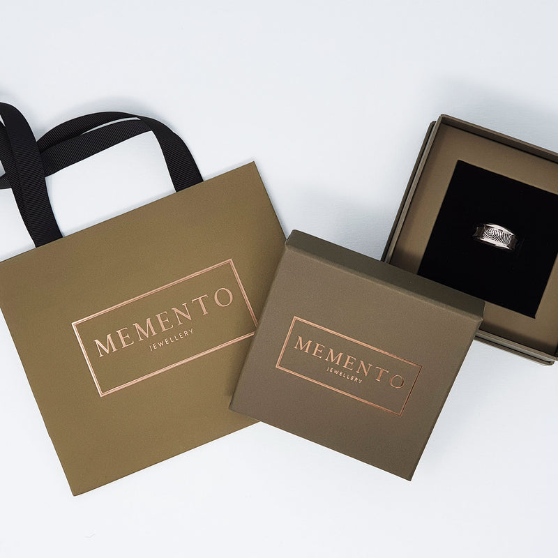 Memento Jewellery luxury packaging