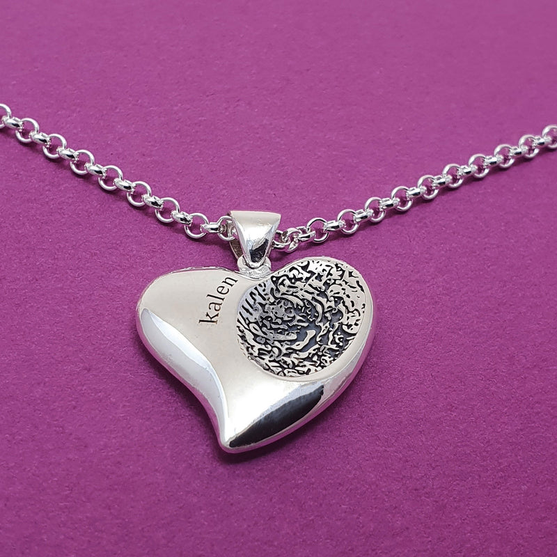 Fingerprint necklace kit 4