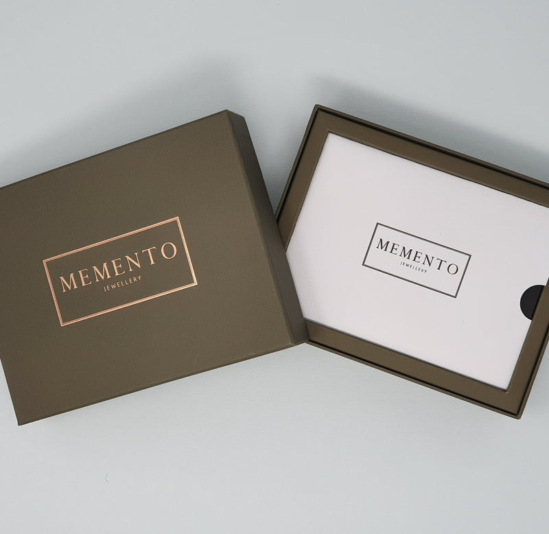 Memento Jewellery Gift Card & Box