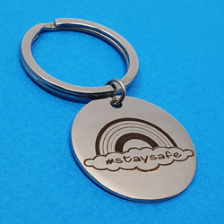 Memento Lockdown 2020 NHS Charity Steel Keyring
