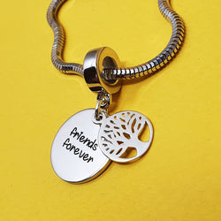 Memento silver personalised special message tree of life charm jewellery