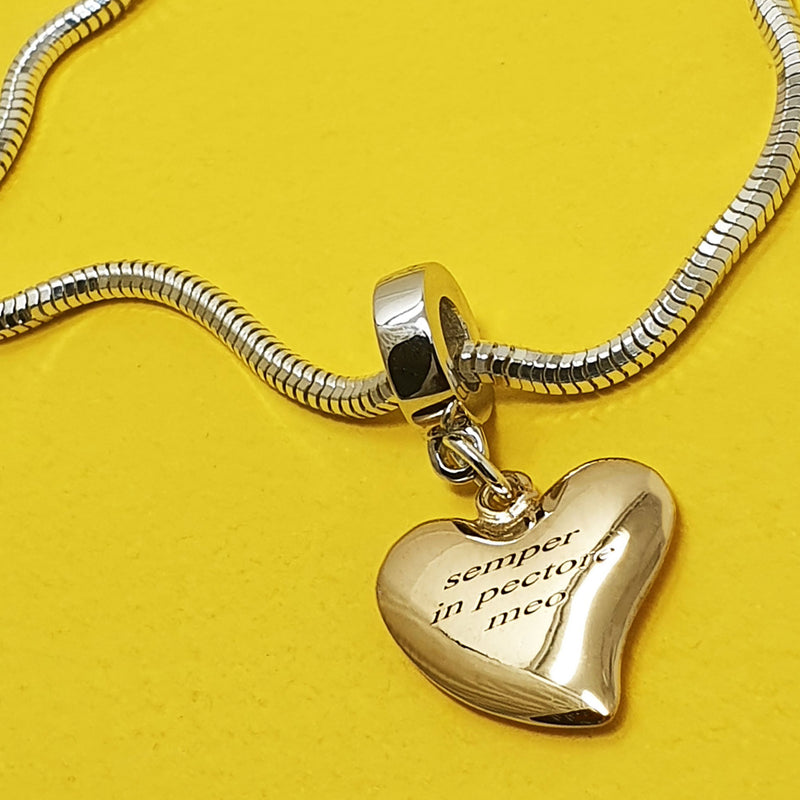 Signature Heart Charm - Special Message