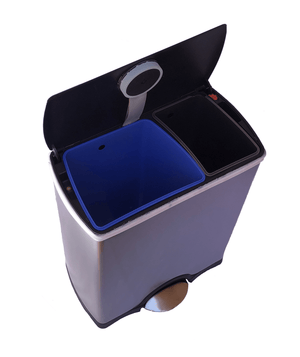 46L Double Bin smart trash can
