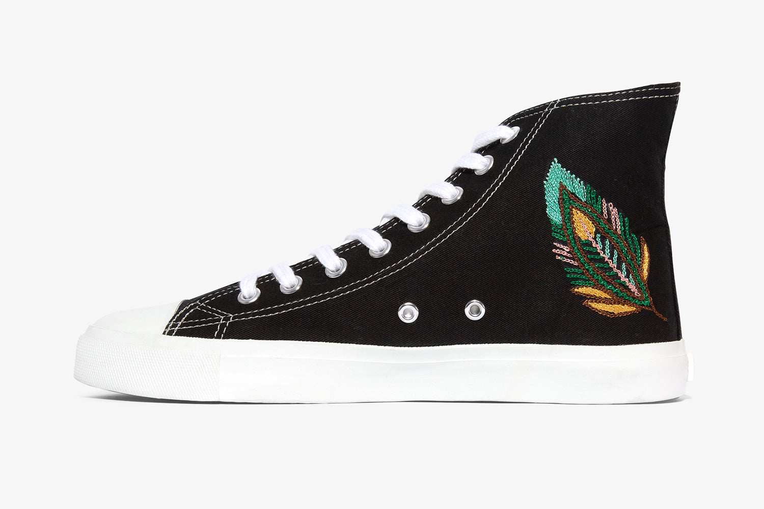 Black Feather High Top