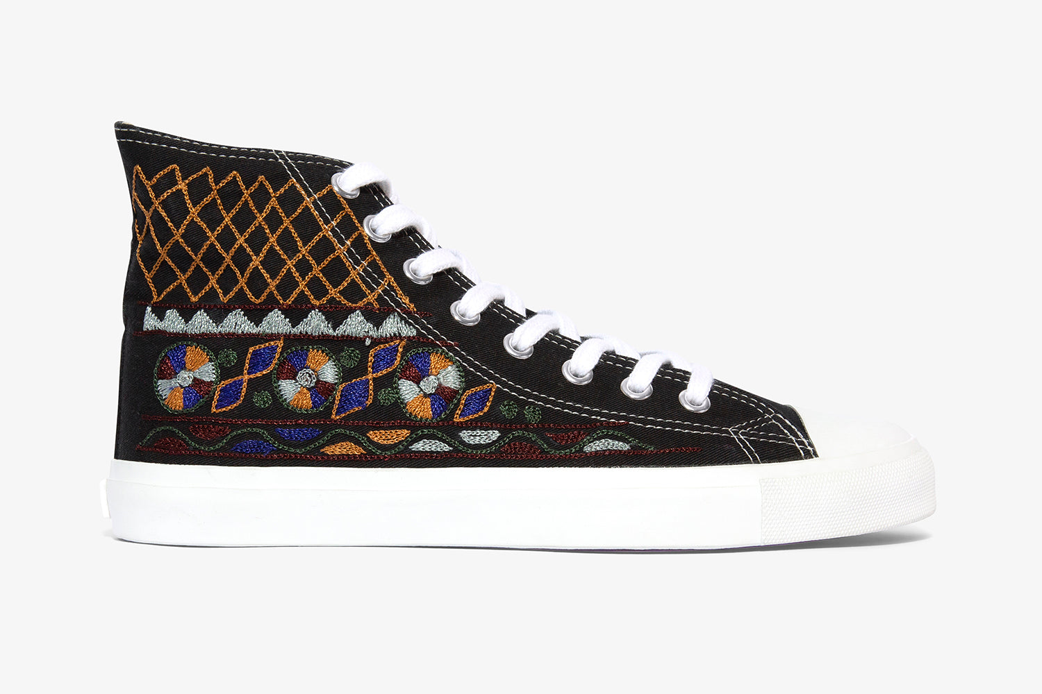 Dark Tribal High Top