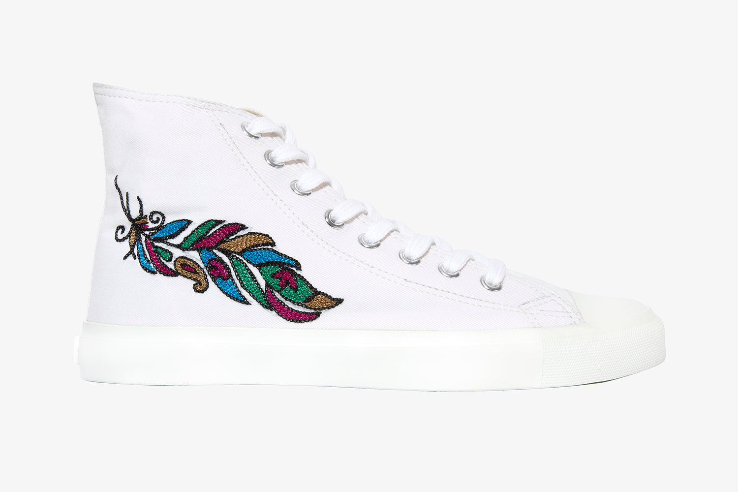 White feather High top