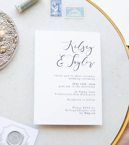 The Kelsey Collection - Wedding Invitation
