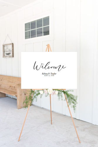 The Kelsey Collection - Welcome Sign