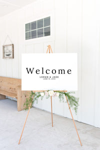 The Loran Collection - Welcome Sign