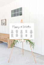 Load image into Gallery viewer, The Poppy Collection - Seating Chart