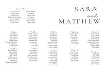 Load image into Gallery viewer, The Sara Collection - Seating Chart