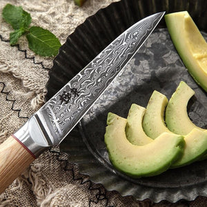Haruta (はるた)  67 layer AUS 10 Damascus Steel kitchen Knives