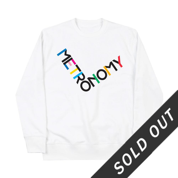 METRONOMY SPECIAL EDITION 'NIGHTS OUT' SWEATSHIRT