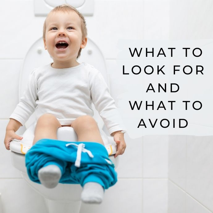 Features to Look for in a Potty Seat