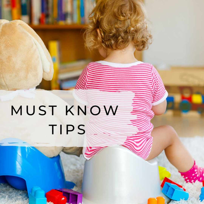 Our Top 10 Potty Training Tips