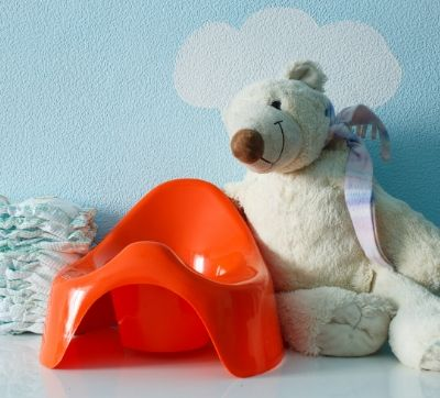 potty chair and accessories