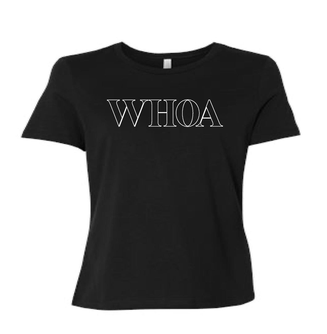 FITTED WHOA Tee
