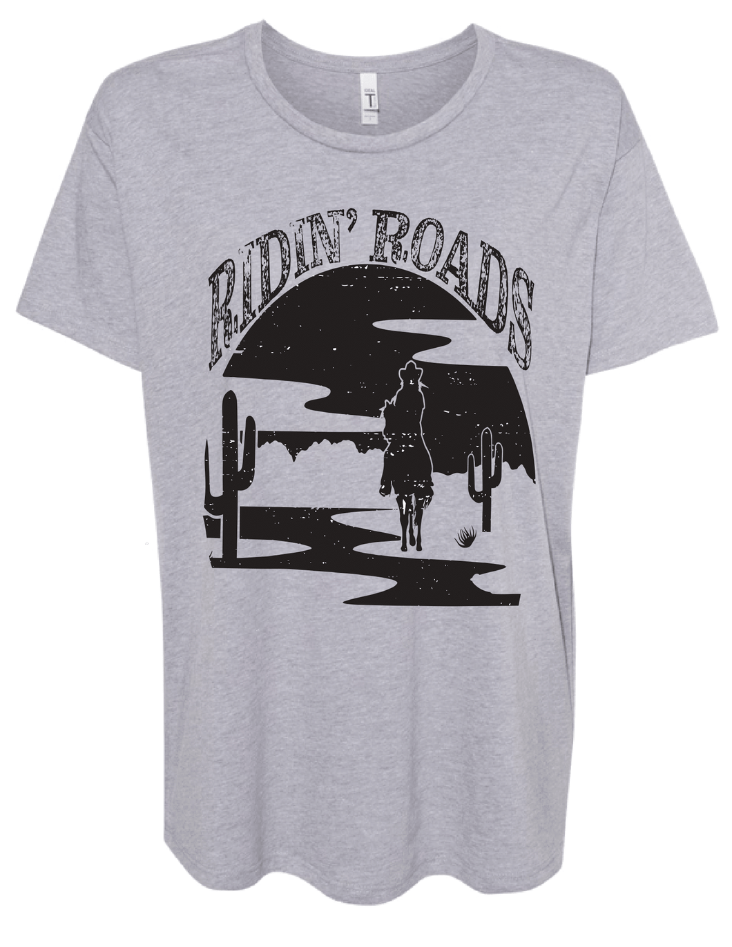 Ridin' Roads Flowy Graphic Tee