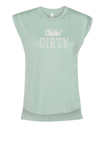 Slidin' DIRTY Muscle Tee