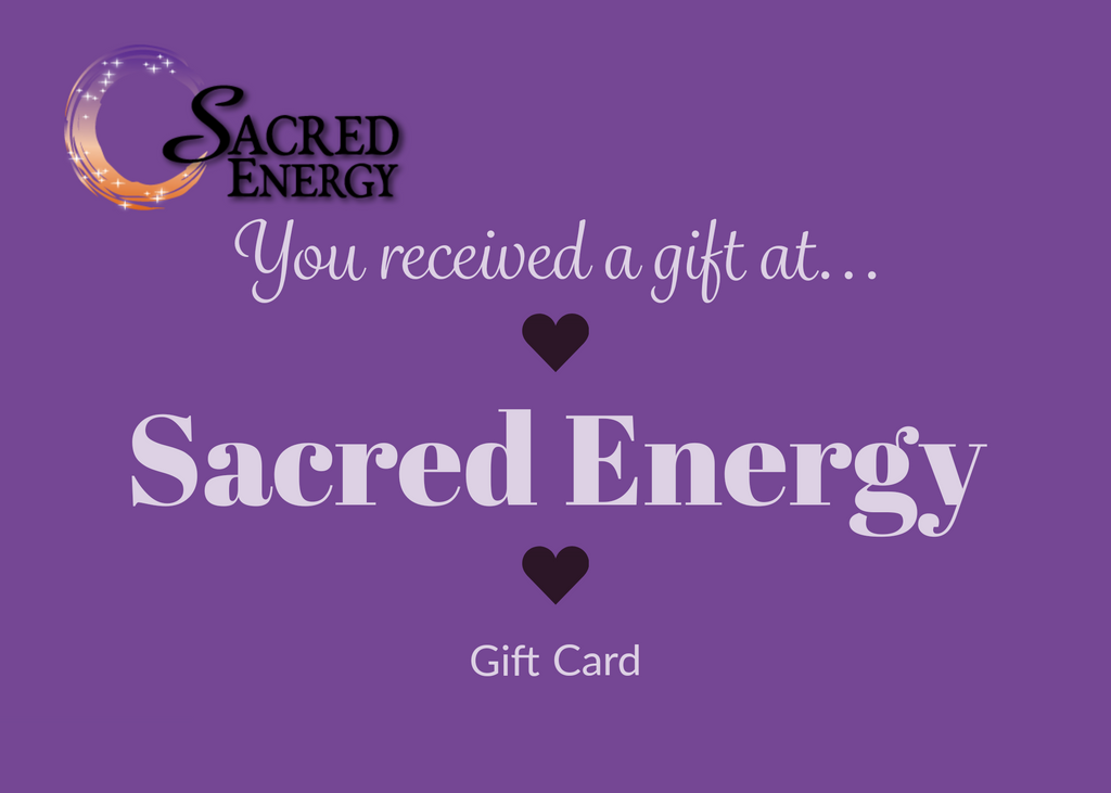 Sacred Energy Gift Card