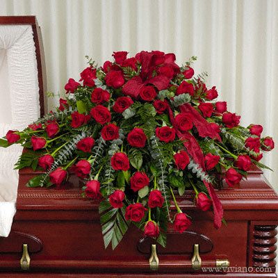 Energy of Love Rose Casket Piece