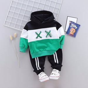 2PCS Comfortable Hoodie Style Tracksuit