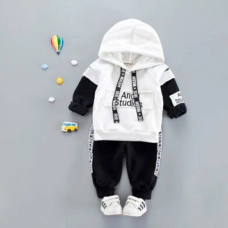 Casual Hooded T-shirt + Pants