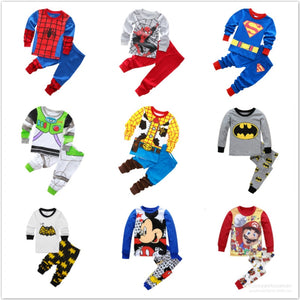 Cartoon Pajamas Set