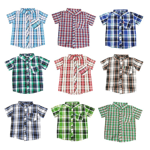 Classic Plaid Collar Shirts
