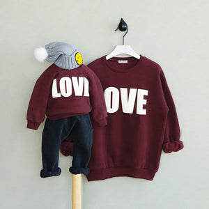 Family Matching Love Sweater