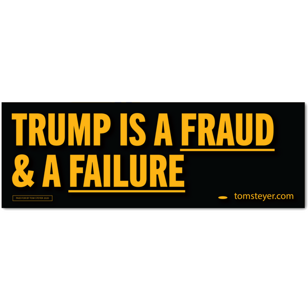 Trump is a Fraud Bumper Magnet