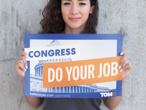 Congress Do Your Job Rally Sign