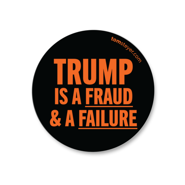 Trump Is a Fraud Sticker