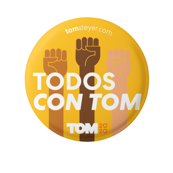 Todos Con Tom Button